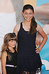 "WESTWOOD, CA - AUGUST 01: Sydney Rouviere and Taylor Rouviere attend ""The Change-Up"" Los Angeles Premiere at Regency Village Theatre on August 1, 2011 in Westwood, California."