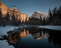 Yosemite in winter.