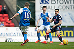 St Johnstone v Ross County&hellip;12.05.18&hellip;  McDiarmid Park    SPFL<br />David Wotherspoon scores the equaliser<br />Picture by Graeme Hart. <br />Copyright Perthshire Picture Agency<br />Tel: 01738 623350  Mobile: 07990 594431