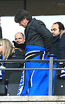 19.01.2020, OLympiastadion, Berlin, GER, DFL, 1.FBL, Hertha BSC VS. Bayern Muenchen, <br /> DFL  regulations prohibit any use of photographs as image sequences and/or quasi-video<br /> im Bild Bundestrainer Jogi Loew mit Herthadecke<br /> <br />       <br /> Foto © nordphoto / Engler