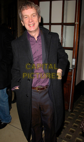 FRANK SKINNER .The God OF CArnage Press Night, Gielgud Theatre, London, England, March 25th 2008..half length  black school.CAP/CAN.©Can Nguyen/Capital Pictures