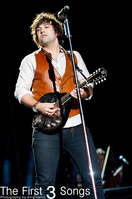 Neil Perry of The Band Perry performs at LP Field during Day Four of the 2013 CMA Music Festival in Nashville, Tennessee.