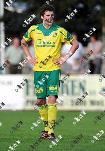 2012-08-14 / Voetbal / seizoen 2012-2013 / Witgoor Dessel / Wout Meeuwssen..Foto: Mpics.be