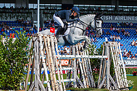 AUS-Isabel English rides Feldale Mouse during the SAP Cup - CICO4*-S Nations Cup Eventing Showjumping. 2019 GER-CHIO Aachen Weltfest des Pferdesports. Friday 19 July. Copyright Photo: Libby Law Photography