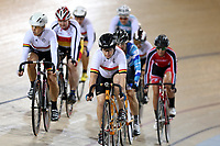 Masters Women 2, 3 5 k Scratch race at the Age Group Track National Championships, Avantidrome, Home of Cycling, Cambridge, New Zealand, Friday, March 17, 2017. Mandatory Credit: © Dianne Manson/CyclingNZ  **NO ARCHIVING**