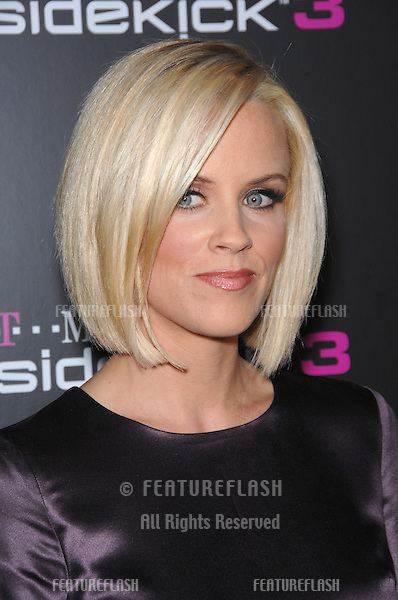 JENNY McCARTHY at party in Beverly Hills to launch the new limited edition T-Mobile Sidekick 3 designs..October 12, 2006  Los Angeles, CA.Picture: Paul Smith / Featureflash