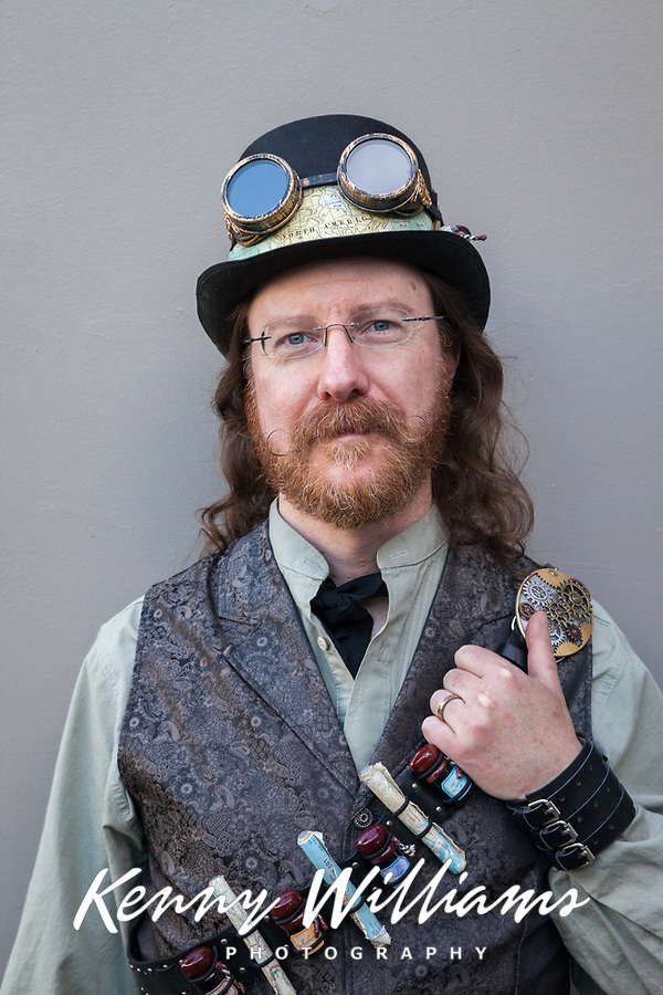 Steampunk Cosplay, Steamposium Seattle 2015, Washington State, WA, America, USA.