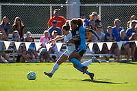 Kansas City, MO - Sunday September 11, 2016: Caroline Kastor, Casey Short during a regular season National Women's Soccer League (NWSL) match between FC Kansas City and the Chicago Red Stars at Swope Soccer Village.