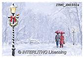 Marcello, CHRISTMAS LANDSCAPES, WEIHNACHTEN WINTERLANDSCHAFTEN, NAVIDAD PAISAJES DE INVIERNO, paintings+++++,ITMCXM1501A,#XL#