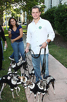 """SMG_SMG_FL1_Matt Damon_Collins Park_102708_04_Matt Damon_Blasts Obama_122311_14.JPG<br /> <br /> FILE PHOTO<br /> Orig Pix Taken  SMG_Matt Damon_Mamas For Obama_102708_13 -  Miami Beach - Florida - United States Of America <br /> -----------------------------------<br /> <br /> MIAMI BEACH, FL - DECEMBER 22: (DAILY MAIL UK) Matt Damon has taken another swipe at Barack Obama and dismissed him as a 'one term President.' In his most ferocious attack to date, the Hollywood star vented his anger at the President's failure to bring about change in America. He said: 'I've talked to a lot of people who worked for Obama at the grassroots level. One of them said to me, """"Never again. I will never be fooled again by a politician"""".'  'You know, a one-term president with some balls who actually got stuff done would have been, in the long run of the country, much better.'  His latest attack was made in an interview for Elle magazine to promote his new film We Bought a Zoo.  Damon, 41,was one of the biggest Hollywood stars to stump for Obama during his 2008 election campaign. He attended fund raising events and was vocal in his support for the Democrat who was elected on a mandate of 'change' and 'hope'. But over the last year the Bourne Identity star has changed his opinion - and been more than happy to publicise his disenchantment.  <br /> <br /> In March, he criticized Obama's education policy,saying 'I really think he misinterpreted his mandate.   'A friend of mine said to me the other day, I thought it was a great line, """"I no longer hope for audacity."""" He's doubled down on a lot of things.'  President Obama even mentioned Damon's change of heart during this year's White House Correspondent's Ball. He said: 'I've even let down my key core constituency: movie stars. Just the other day, Matt Damon - I love Matt Damon, love the guy - Matt Damon said he was disappointed in my performance. Well, Matt, I just saw The Adjustment Bureau, so - right back at-cha, buddy. . on December 22,"""