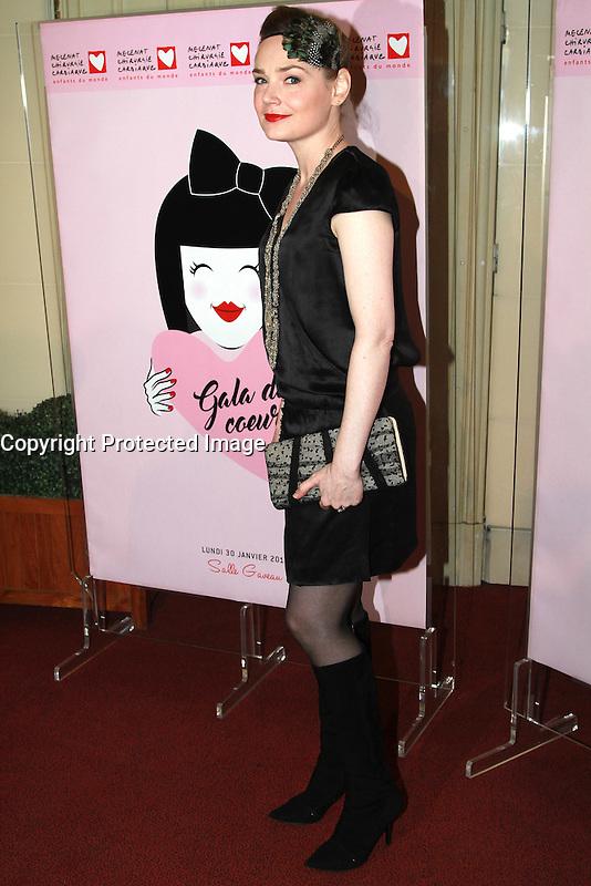 Julie Judd - Gala du Coeur 2017 - Salle Gaveau, Paris, France - 30/01/2017
