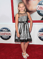 HOLLYWOOD, CA - AUGUST 02: Madison Wolfe at the 'The Campaign' film premiere at Grauman's Chinese Theatre on August 2, 2012 in Hollywood, California. &copy;&nbsp;mpi21/MediaPunch Inc. /NortePhoto.com<br />