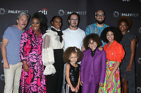 LOS ANGELES - SEP 14:  Gary Cole, Christina Anthony, Tika Sumpter, Mykal-Michelle Harris, Mark-Paul Gosselaar, Ethan William Childress, Peter Saji, Arica Himmel, Karin Gist at the PaleyFest Fall TV Previews - ABC at the Paley Center for Media on September 14, 2019 in Beverly Hills, CA