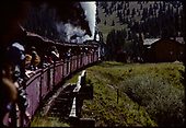 D&amp;RGW #484 K-36 and #487 K-36 with excursion train at Cumbres.<br /> D&amp;RGW  Cumbres, CO