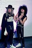 Guns N' Roses; Steven Adler; Fred Coury; 1987<br /> Photo Credit: Eddie Malluk/Atlas Icons.com