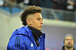 13.01.2018,  Red Bull Arena, Leipzig, GER, 1.FBL, 18.Spieltag, RB Leipzig vs FC Schalke 04, im Bild Thilo Kehrer, (FC Schalke 04)  Portrait<br /> <br /> <br /> <br /> <br /> Foto &copy; nordphoto / Schmalfuss