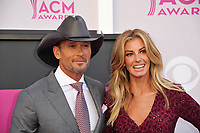 Faith Hill &amp; Tim McGraw at the Academy of Country Music Awards 2017 at the T-Mobile Arena, Las Vegas, NV, USA 02 April  2017<br /> Picture: Paul Smith/Featureflash/SilverHub 0208 004 5359 sales@silverhubmedia.com