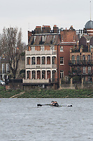 Mortlake/Chiswick, GREATER LONDON. United Kingdom Oxford University Women's   Boat  Club, Pre Boat Race Fixture  2017 Boat Race The Championship Course, Putney to Mortlake on the River Thames.<br /> <br /> {DOW}  {DATE}<br /> <br /> [Mandatory Credit; Peter SPURRIER/Intersport Images]