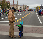 2-year old Jordan and his grandpa Jorge from Carson City during the Nevada Day Parade on Saturday, October 29, 2016.