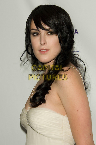 """RUMER WILLIS .2008 Tribeca Film Festival - World Premiere of """"From Within"""".at the AMC 19th Street Theater, .New York, NY, USA, April 25, 2008..portrait headshot white ivory .CAP/LNC/TOM.©LNC/Capital Pictures"""