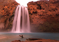 HAVASU FALLS IN HAVASU CANYON, ARIZONA