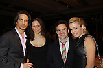 One Life To Live Michael Easton & wife Ginevra Arabia and Bree Williamson & hubby Michael Roberts at 18th Annual Feast to benefit Center for Hearing and Communications (CHC) on October 24, 2011 at Chelsea Pier 60, New York City, New York.  (Photo by Sue Coflin/Max Photos)