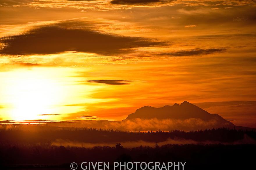 Sunrise, North Cascades, Washington