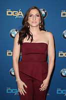 BEVERLY HILLS, CA - FEBRUARY 3: Chelsea Peretti   at the 70th Annual Directors Guild of America Awards (DGA, DGAs), at The Beverly Hilton Hotel in Beverly Hills, California on February 3, 2018.  <br /> CAP/MPI/FS<br /> &copy;FS/Capital Pictures