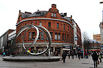 Belfast city centre in Northern Ireland.<br /> Photo Don MacMonagle