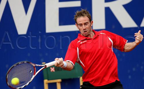 17th April 2010: Filippo Volandri during the ATP Challenger Tour,RAI Open at the RAI Sporting Circle at Rome,