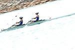 Miharu Takashima &  Hinako Takimoto (JPN), <br /> AUGUST 20, 2018 - Rowing : <br /> Women's Lightweight Double Sculls  Heat <br /> at Jakabaring Sport Center Lake <br /> during the 2018 Jakarta Palembang Asian Games <br /> in Palembang, Indonesia. <br /> (Photo by Yohei Osada/AFLO SPORT)
