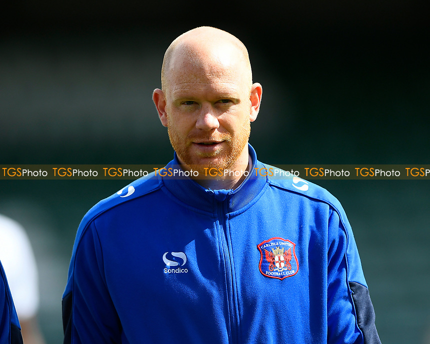 Jason Kennedy of Carlisle United returns from injury and starts on the bench during Yeovil Town vs Carlisle United, Sky Bet EFL League 2 Football at Huish Park on 1st April 2017