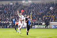 18 MAURO ICARDI (PSG) scores a goal <br /> Bruges 22-10-2019 <br /> Club Brugge - Paris Saint Germain PSG <br /> Champions League 2019/2020<br /> Foto Panoramic / Insidefoto <br /> Italy Only