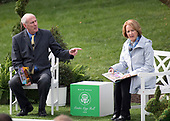Director of National Intelligence Dan Coats and his wife, Marsha, read to children prior to United States President Donald J. Trump and first lady Melania Trump making remarks at the annual White House Easter Egg Roll on the South Lawn of the White House in Monday, April 2, 2018.<br /> Credit: Ron Sachs / CNP