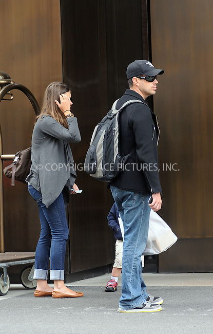 WWW.ACEPIXS.COM . . . . .  ....May 6 2012, New York City....Carson Daly outside his hotel with pregnant girlfriend Siri Pinter and their son Jackson on May 6 2012 in New York City....Please byline: CURTIS MEANS - ACE PICTURES.... *** ***..Ace Pictures, Inc:  ..Philip Vaughan (212) 243-8787 or (646) 769 0430..e-mail: info@acepixs.com..web: http://www.acepixs.com