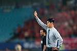 Jiangsu FC Head Coach Choi Yong Soo gestures during the AFC Champions League 2017 Round of 16 match between Jiangsu FC (CHN) vs Shanghai SIPG FC (CHN) at the Nanjing Olympic Stadium on 31 May 2017 in Nanjing, China. Photo by Marcio Rodrigo Machado / Power Sport Images