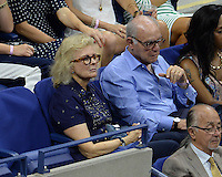 FLUSHING NY- SEPTEMBER 08: Candice Bergen is seen watching Serena Williams Vs Karolina Pliskova on Arthur Ashe Stadium at the USTA Billie Jean King National Tennis Center on September 8, 2016 in Flushing Queens. Credit: mpi04/MediaPunch