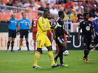 Bill Hamid. D.C. United tied Toronto FC, 3-3, during the game at RFK Stadium in Washington, DC.