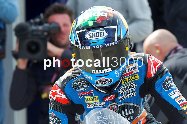 hertz british grand prix during the world championship 2014.<br /> Silverstone, england<br /> August 28, 2014. <br /> FP MotoGP<br /> Box<br /> alex marquez<br /> PHOTOCALL3000/ RME