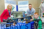 At the Kerry Science Festival in IT Tralee on Saturday were Shane Leonard, with Nuala Hofler and Ronny Witeshcka from Kostal