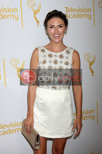 LOS ANGELES - JUN 19:  Elizabeth Hendrickson at the ATAS Daytime Emmy Nominees Reception at the London Hotel on June 19, 2014 in West Hollywood, CA