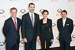 20150129 Spanish Royals Attend Antena3 25º Aniversary