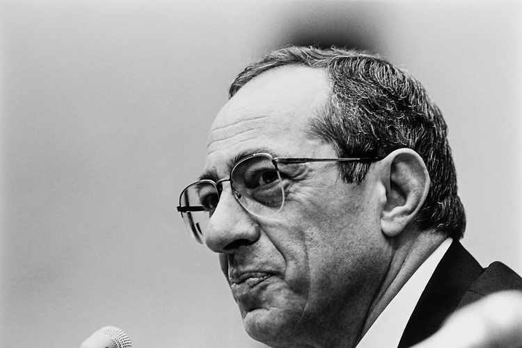 Governor. Mario Cuomo, D-N.Y., on May 20, 1992. (Photo by Maureen Keating/CQ Roll Call via Getty Images)