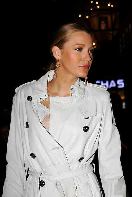 WWW.ACEPIXS.COM . . . . . ....November 22 2010, New York City ....Blake Lively at the launch of Lorraine Schwartz's '2BHAPPY' jewelry collection at Lavo NYC on November 22, 2010 in New York City.....Please byline: NANCY RIVERA- ACEPIXS.COM.... *** ***..Ace Pictures, Inc:  ..Tel: 646 769 0430..e-mail: info@acepixs.com..web: http://www.acepixs.com