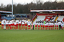 Mitchell Cole tribute. Stevenage v Crawley Town - npower League 1 -  Lamex Stadium, Stevenage - 15th December, 2012. © Kevin Coleman 2012..