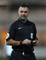 Referee Eddie Ilderton<br /> <br /> Photographer Dave Howarth/CameraSport<br /> <br /> EFL Checkatrade Trophy - Northern Section Group A - Fleetwood Town v Morecambe - Tuesday 3rd October 2017 - Highbury Stadium - Fleetwood<br />  <br /> World Copyright &copy; 2018 CameraSport. All rights reserved. 43 Linden Ave. Countesthorpe. Leicester. England. LE8 5PG - Tel: +44 (0) 116 277 4147 - admin@camerasport.com - www.camerasport.com
