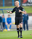 Referee Stephen Finnie ...