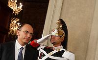 20130424 ROMA-POLITICA: GOVERNO, NAPOLITANO INCARICA ENRICO LETTA