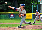 4 June 2011: The Burlington American Mariners in Little League action against the Burlington American Athletics at Calahan Park in Burlington, Vermont. Mandatory Credit: Ed Wolfstein Photo