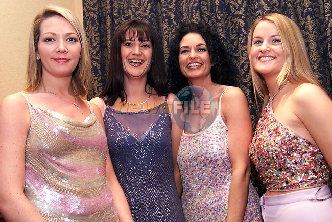 Paula Egan, Orlaith Briscoe, Terri Durnin and Michelle Meegan at the Village of Ability Fashion Show in the Bridgeford..Picture: Paul Mohan/Newsfile